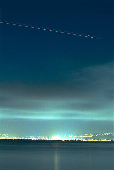 Aircraft Over East Bay
